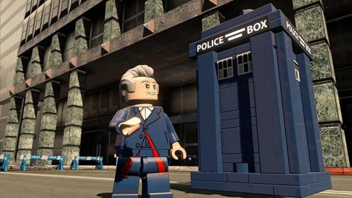 LEGO Dimensions - Doctor et Tardis 01