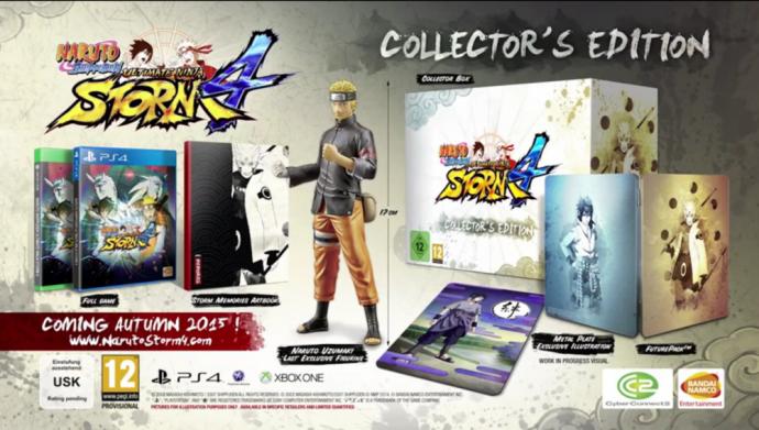 Naruto Ultimate Ninja Storm 4édition collector
