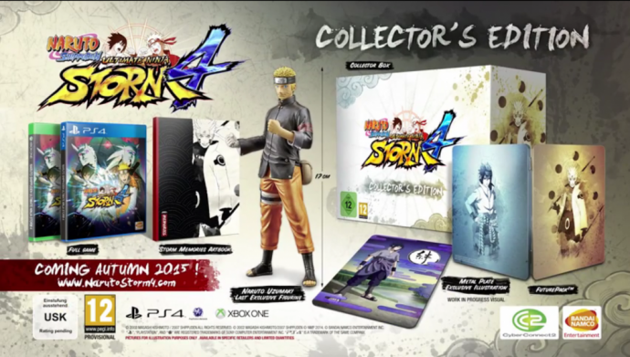 Naruto Ultimate Ninja Storm 4édition collector