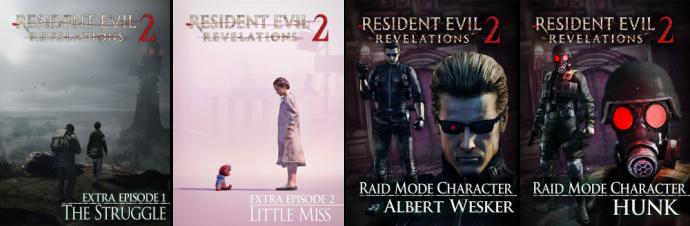 Resident Evil Revelations 2 bonus