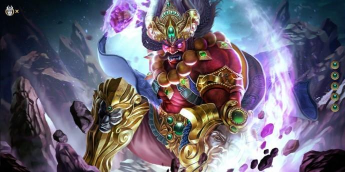 Ravana le Roi démon de Lanka débarque dans SMITE
