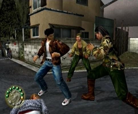 Shenmue combat