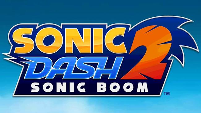 Sonic Dash 2 - Sonic Boom Logo