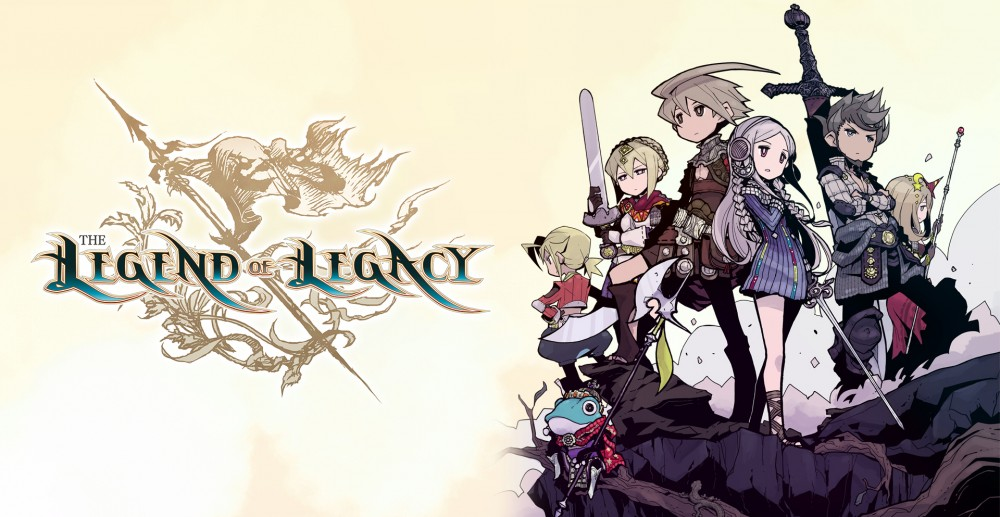 Les héros de Legend of Legacy