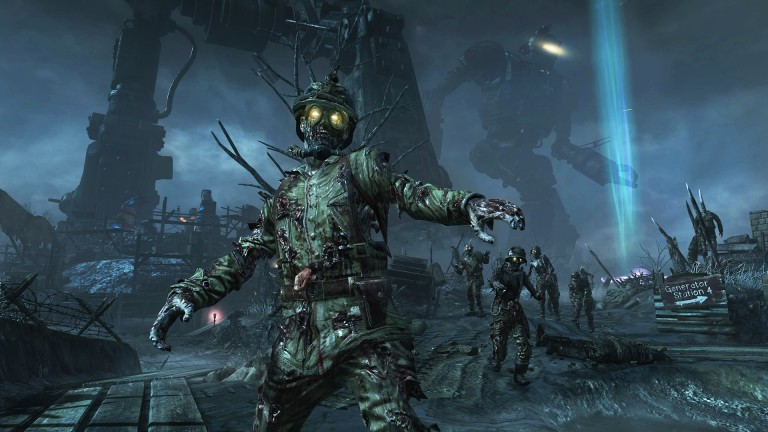 Un zombi dans Call of Duty: Black Ops III