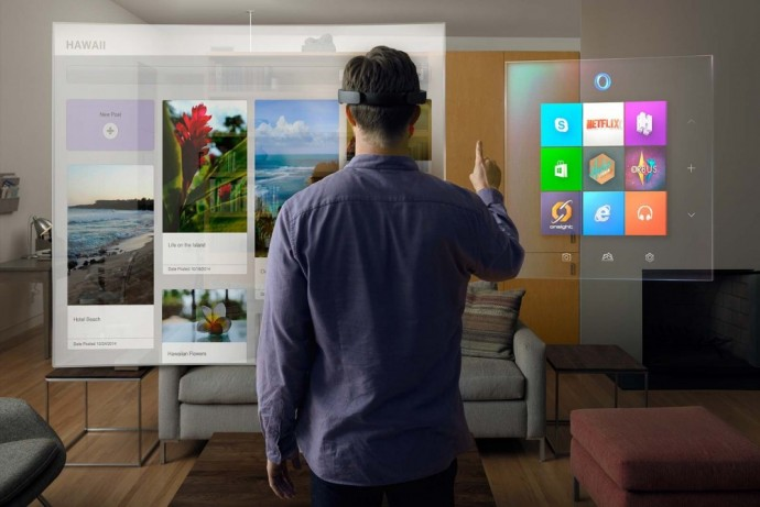 Le casque de réalité augmentée HoloLens en pleine action