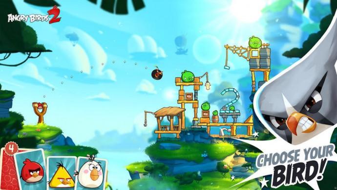 Angry Birds 2 oiseaux