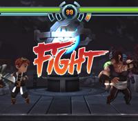 Evoland 2 Fight