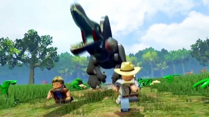 LEGO Jurassic World spinosaure