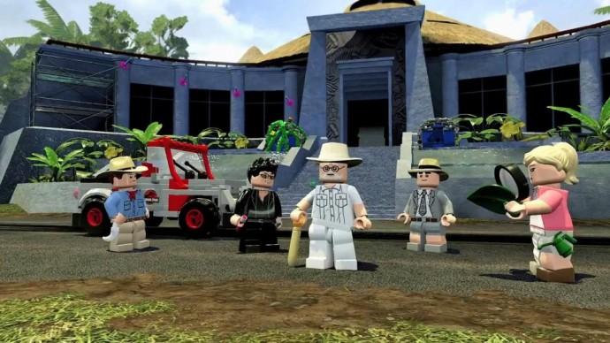 LEGO Jurassic World Jurassic Park