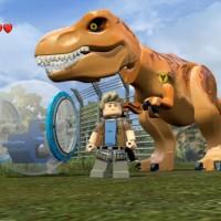 Un dinausore dans LEGO Jurassik World