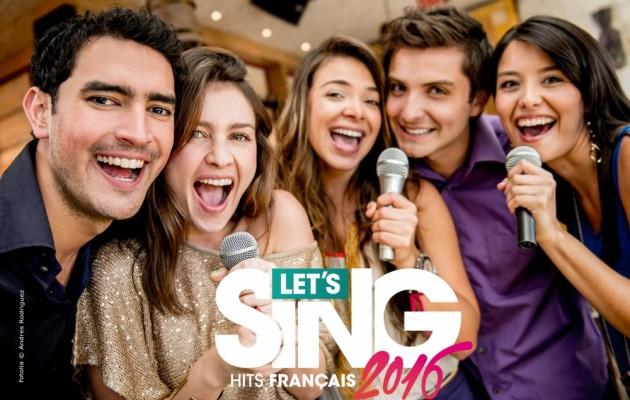 LET'S SING 2016: Hits Français