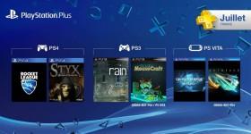 Les jeux gratuits du PlayStation Plus de juillet
