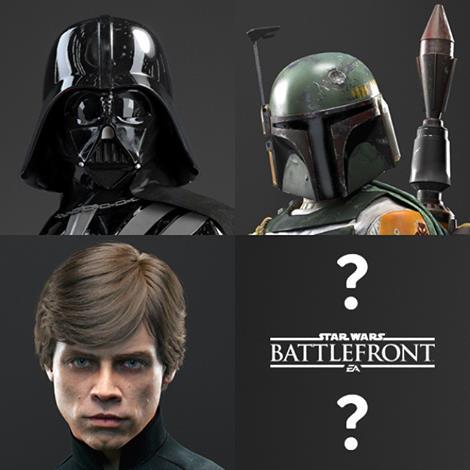 Les héros de Star Wars Battlefront