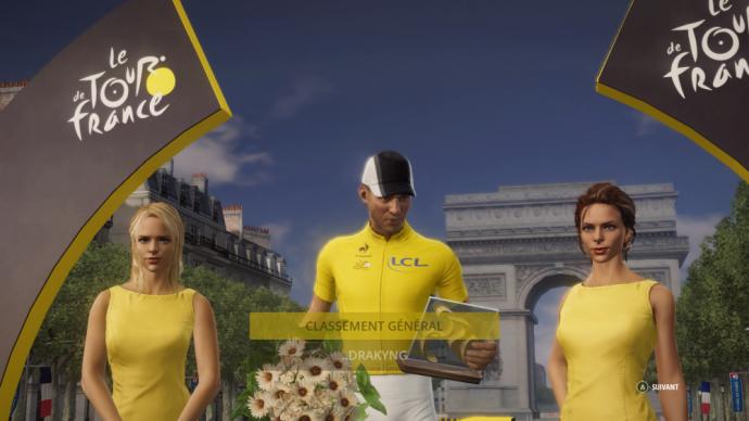 Drakyng en jaune au Tour de France 2015