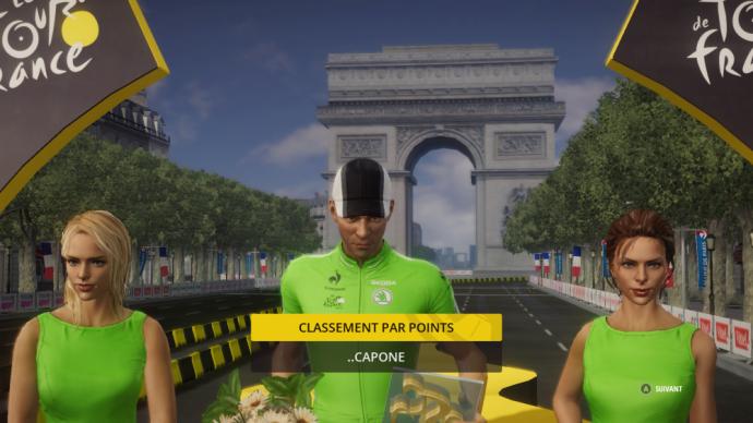 Capone, meilleur sprinter du Tour de France 2015
