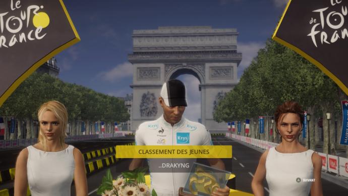 Drakyng , meilleur jeune du Tour de France 2015