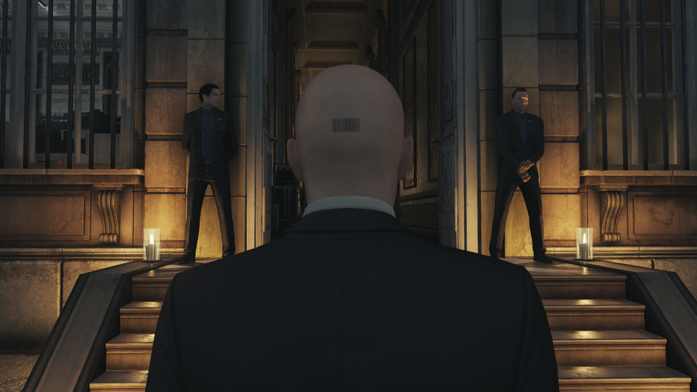 Hitman tatouage agent 47