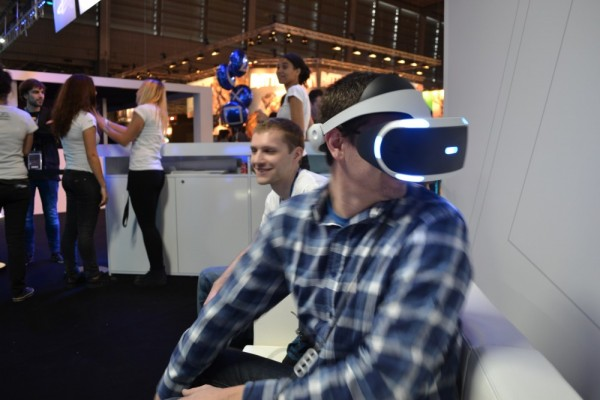 Le PlayStation VR s'invite à la Paris Games Week