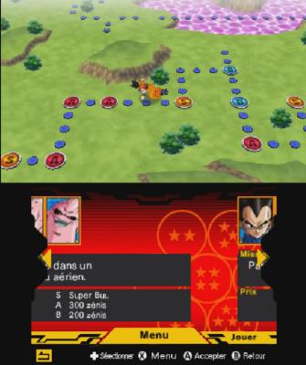 Dragon Ball Extreme Butoden mode aventure