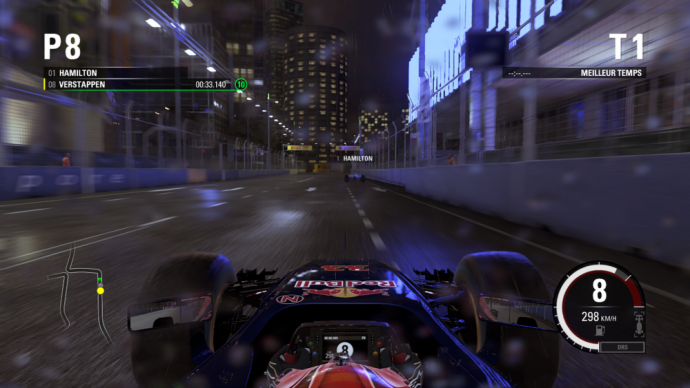 F1 2015 : Singapour de nuit sous la pluie
