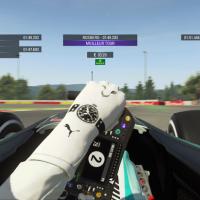 Vue cockpit dans F1 2015