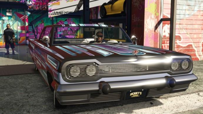 GTA Online Lowriders est maintenant disponible - LightninGamer - Benny's garage