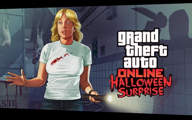 GTA Online nous offre quelque surprises pour Halloween - Event logo - LightninGamer