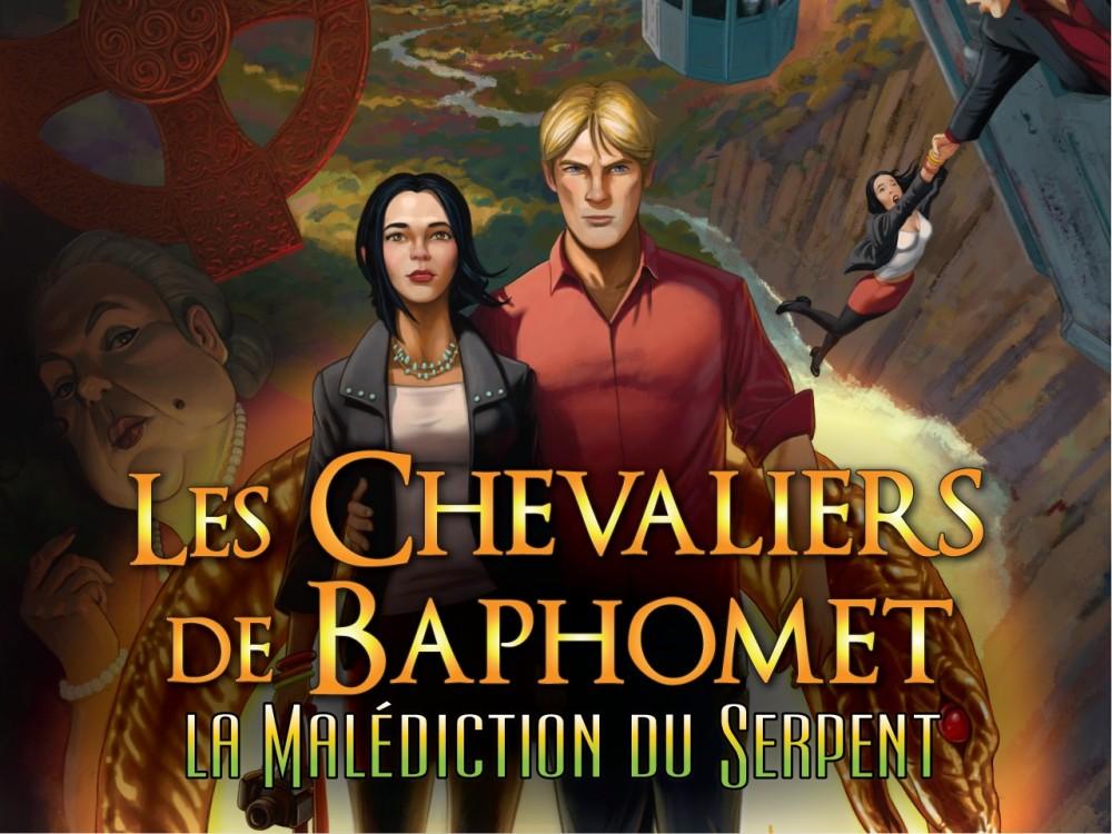 Jaquette de Les Chevaliers de Baphomet 5 : La malédiction du serpent
