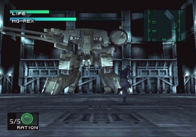 Metal Gear Solid Metal Gear Rex