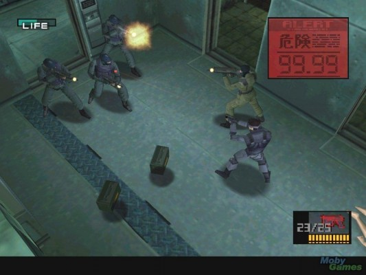 Metal Gear Solid fusillade