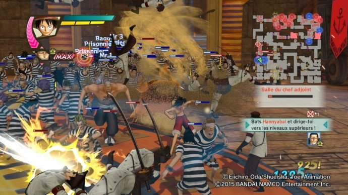 One Piece Pirate Warriors 3 Impel Down