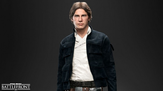Han Solo dans Star Wars Battlefront