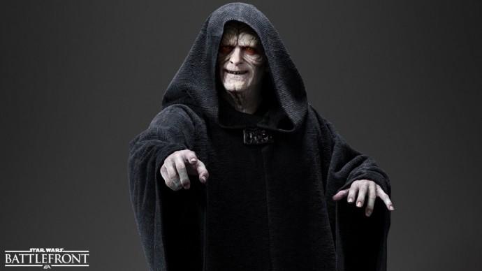 Palpatine dans Star Wars Battlefront