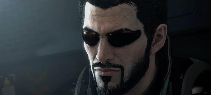 Adam Jensen dans Deus Ex: Mankind Divided