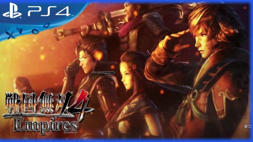 Samurai Warriors 4 Empires logo PlayStation 4