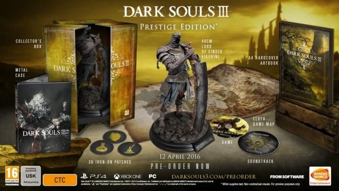 Dark Souls III édition prestige