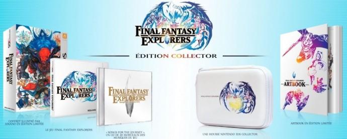 Contenu de la version collector de Final Fantasy Explorers