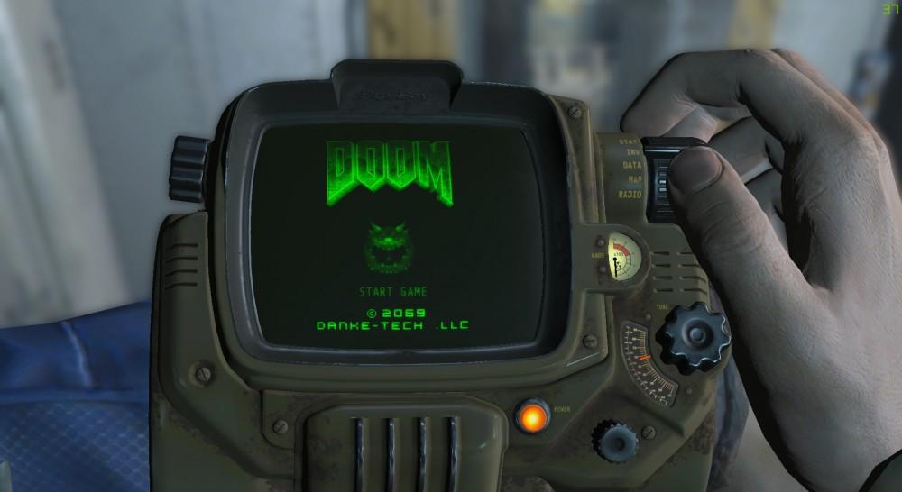 Le PipBoy dans Fallout 4