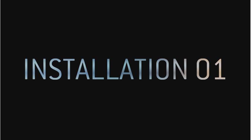 Installation 01 - Logo - Lightningamer