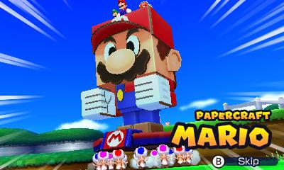 Mario & Luigi Paper Jam Bros Titancarton Mario présentation