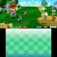 Mario & Luigi Paper Jam Bros combat
