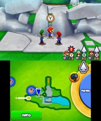 Mario & Luigi Paper Jam Bros fissure