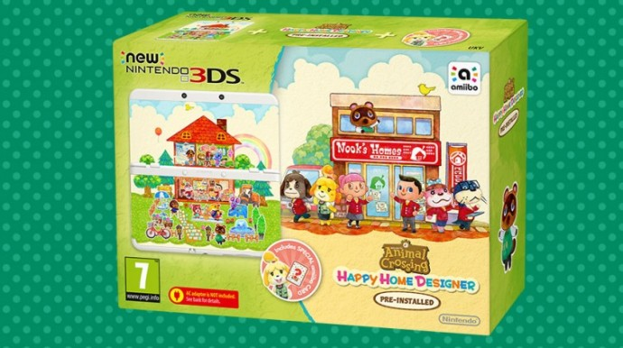 New 3DS Animal Crossing Happy Home Designer