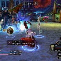 Les combats de Nights of Azure