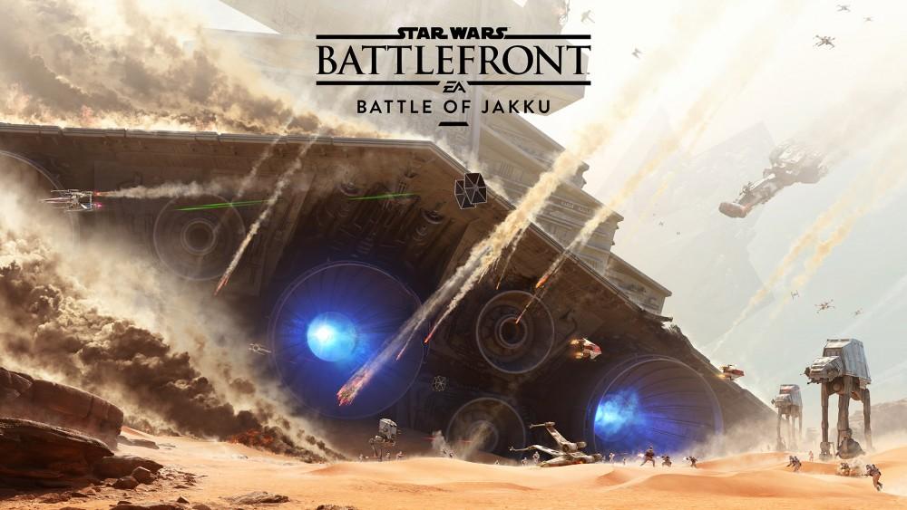 Star Wars Battlefront bataille de Jakku