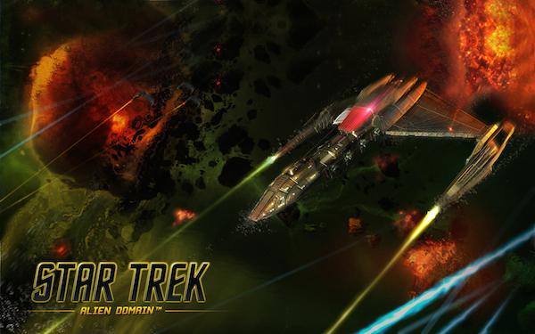 Un vaisseau dans Star Trek: Alien Domain