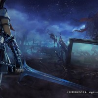 Héroïne armée de son épee dans Stranger of Sword City