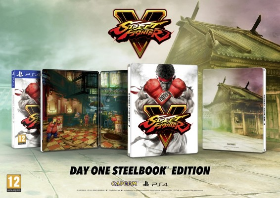 Street Fighter V steelbook