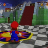 Super Mario 64 hall du chateau